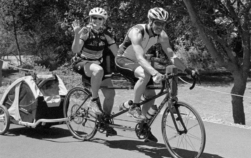 Vélo-électrique-Tandem